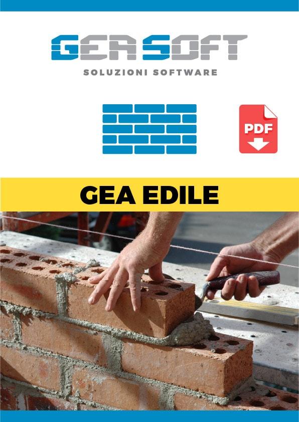 Brochure Gea Edile