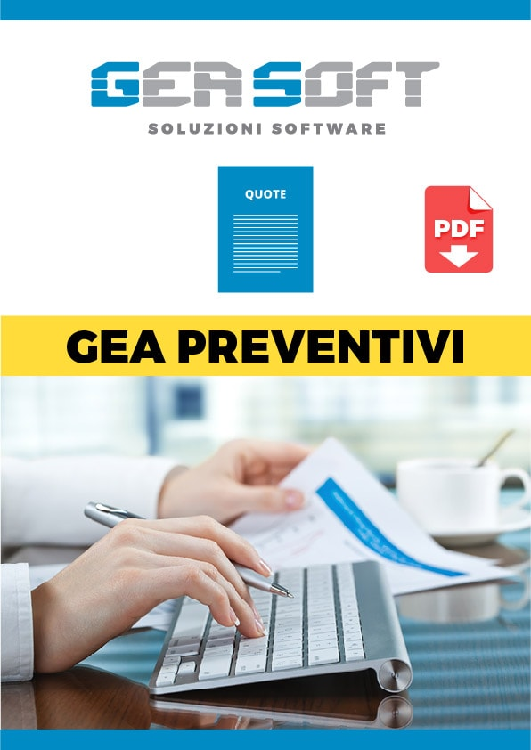 Brochure software Gea Preventivi