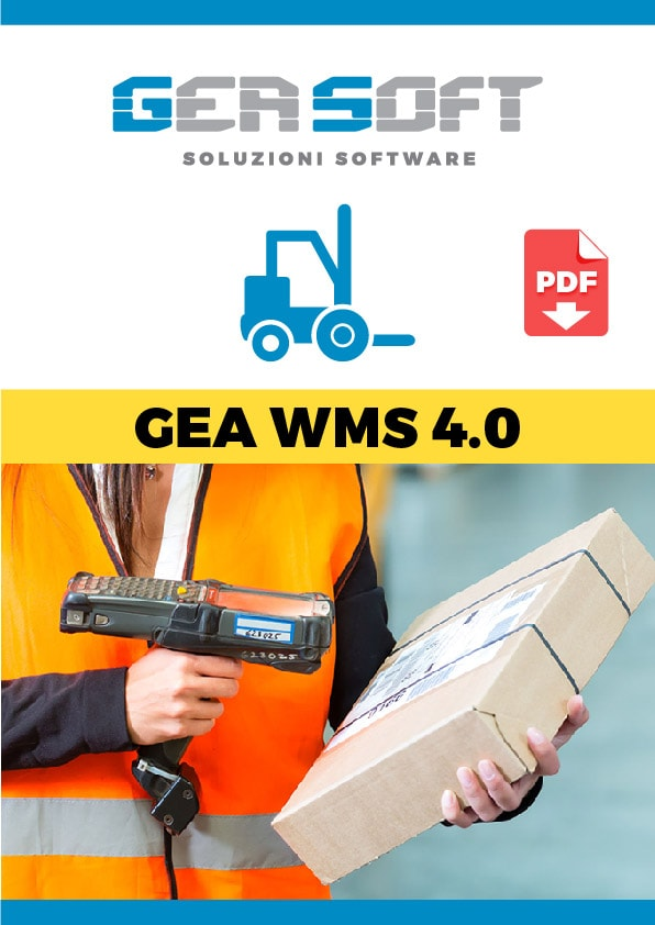 Brochure software Gea WMS 4.0