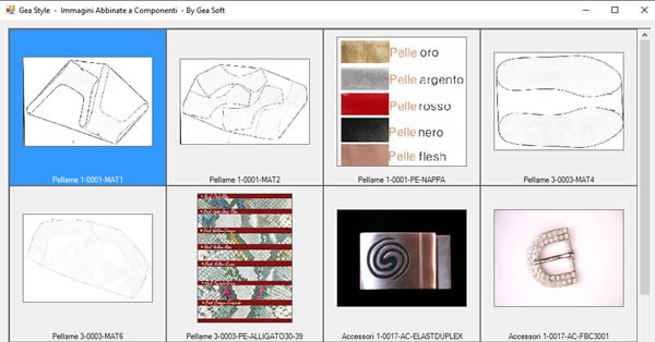 Gea Style immagini abbinate a componenti